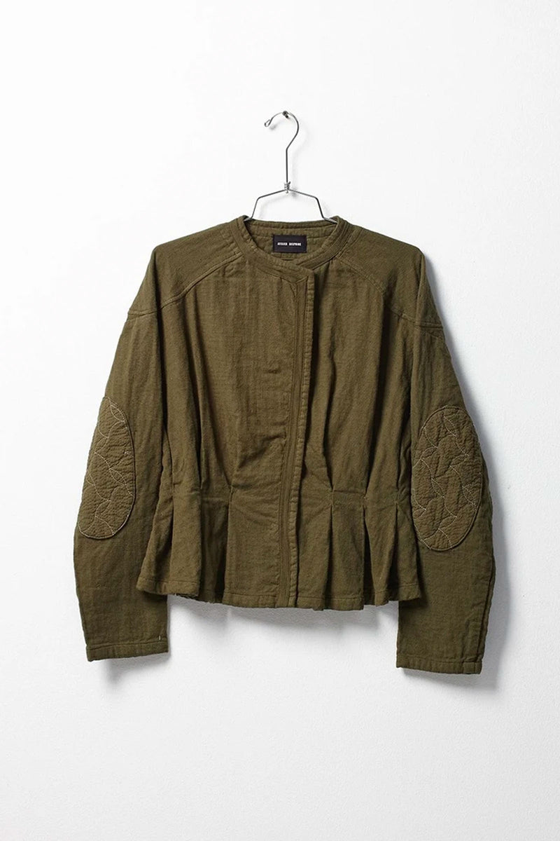 Atelier Delphine Hunter Green Meeker Jacket