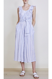 Apiece Apart Highland Jumpsuit in Stripes