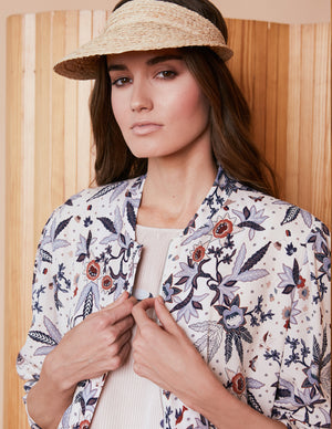 Caballero Lily Jacket in Cupro Flower