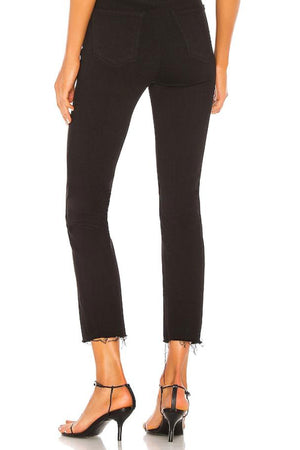 GRLFRND Reed Jeans in Black Magic Woman back