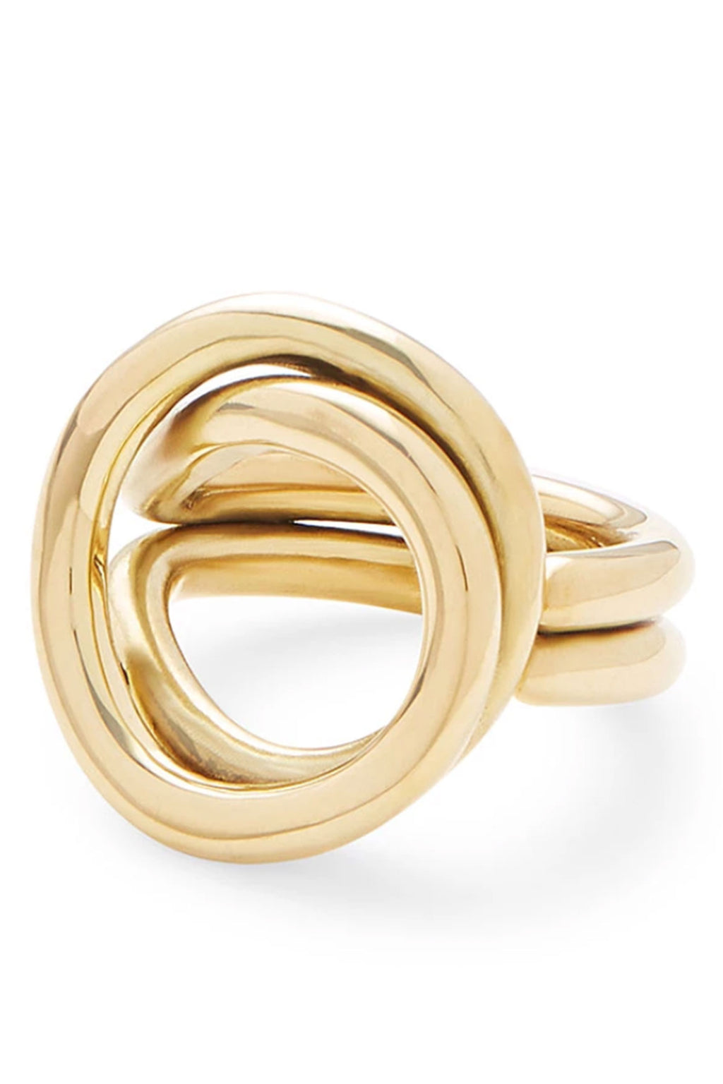 Soko Linea Ring in Brass