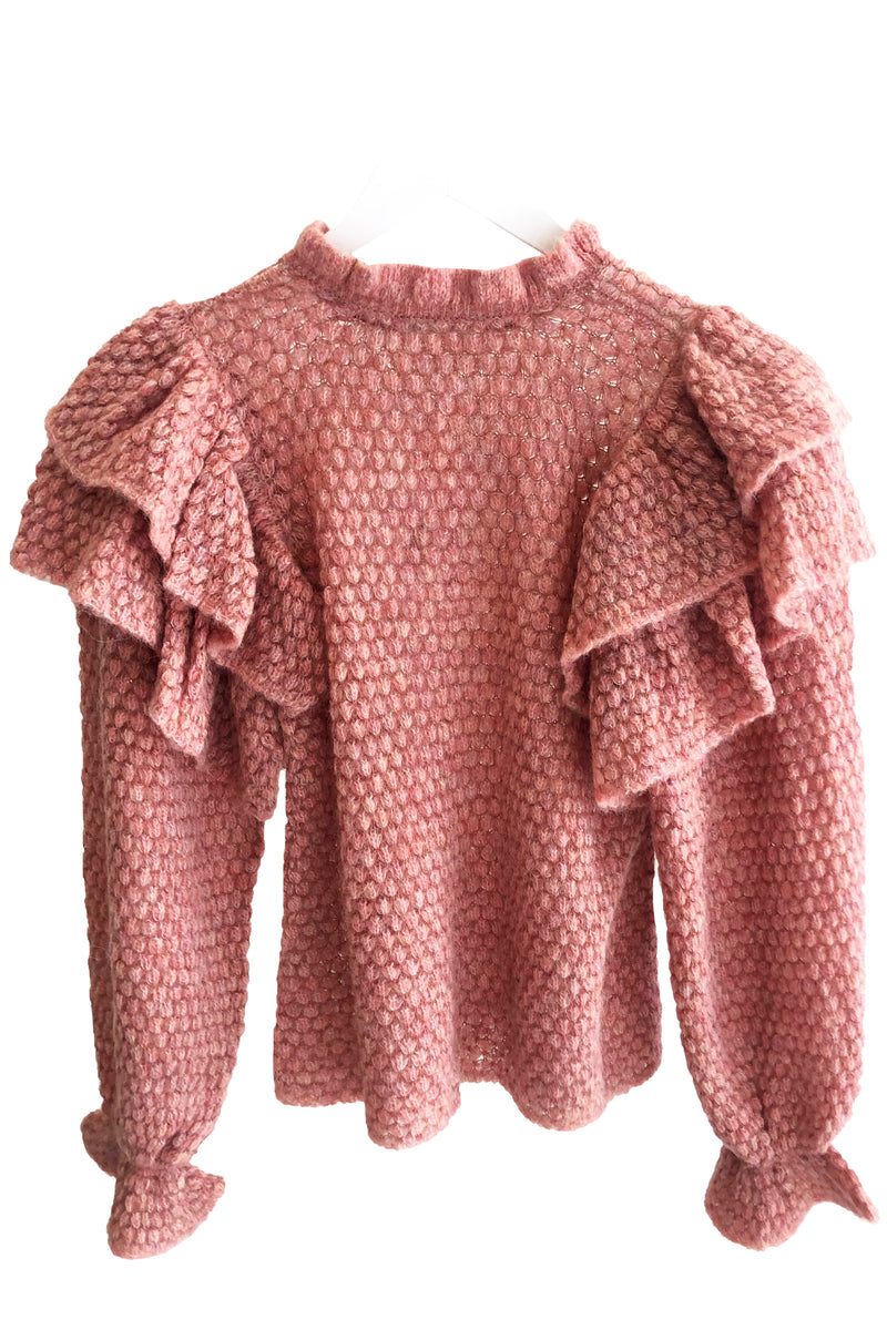 Ulla Johnson Camilla Pullover in Sweet Pea