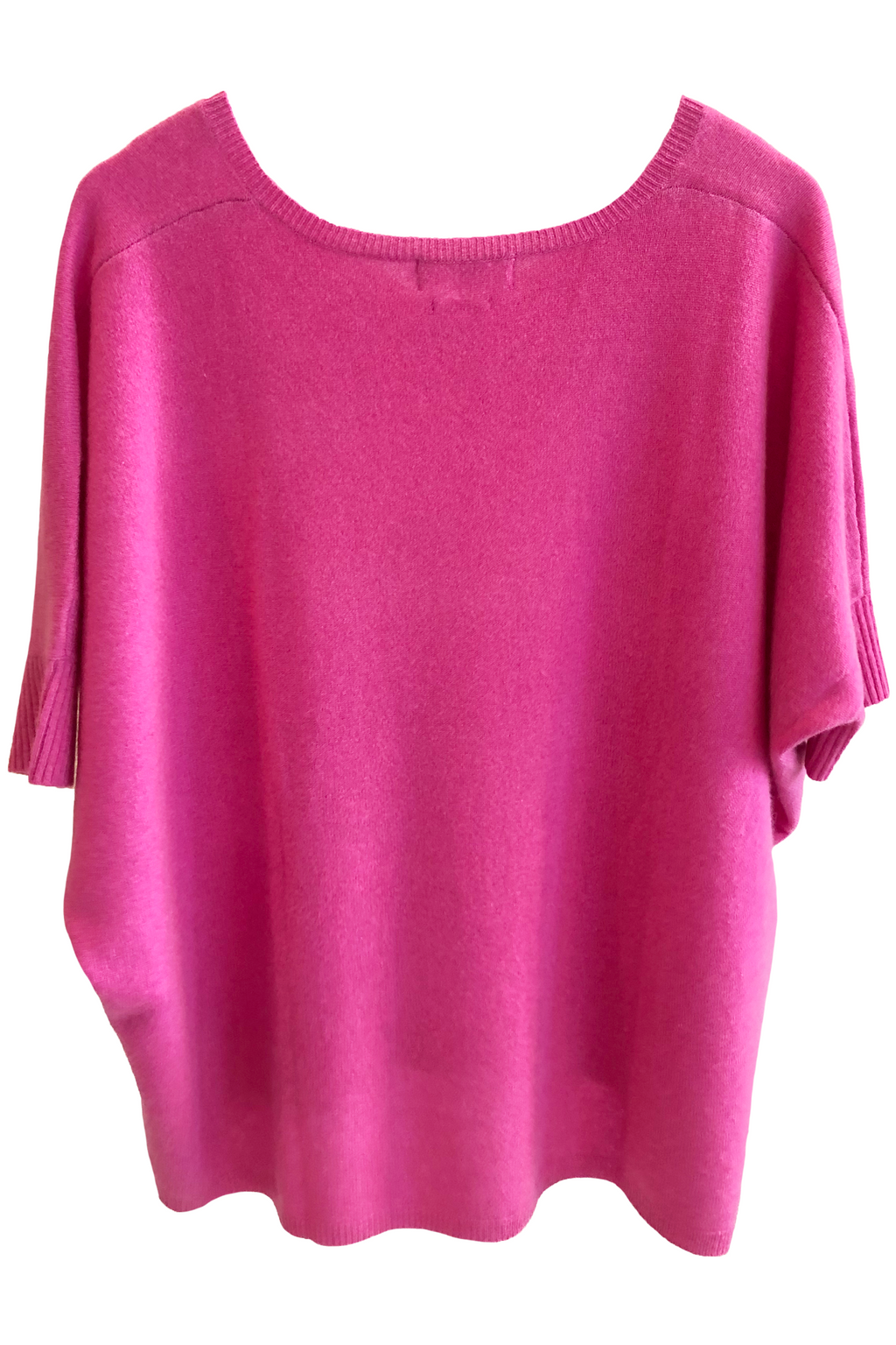 Not Shy Aimee Poncho Sweater in Rose Merveilleux
