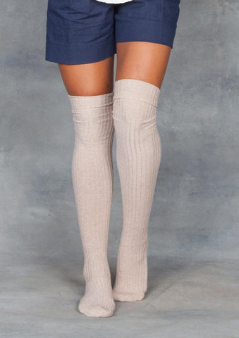 Base Range Over the Knee Cotton Melange Socks