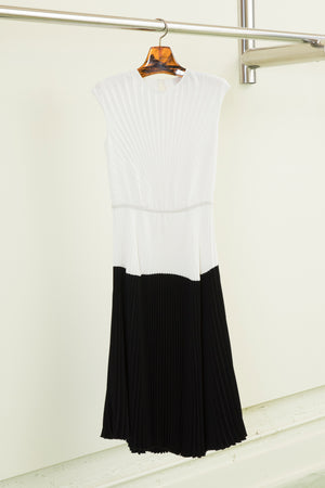 Rachel Comey Mangano Dress in Black-Ivory