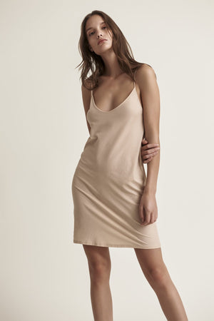 Skin Sexy Pima Cotton Slip in Nude
