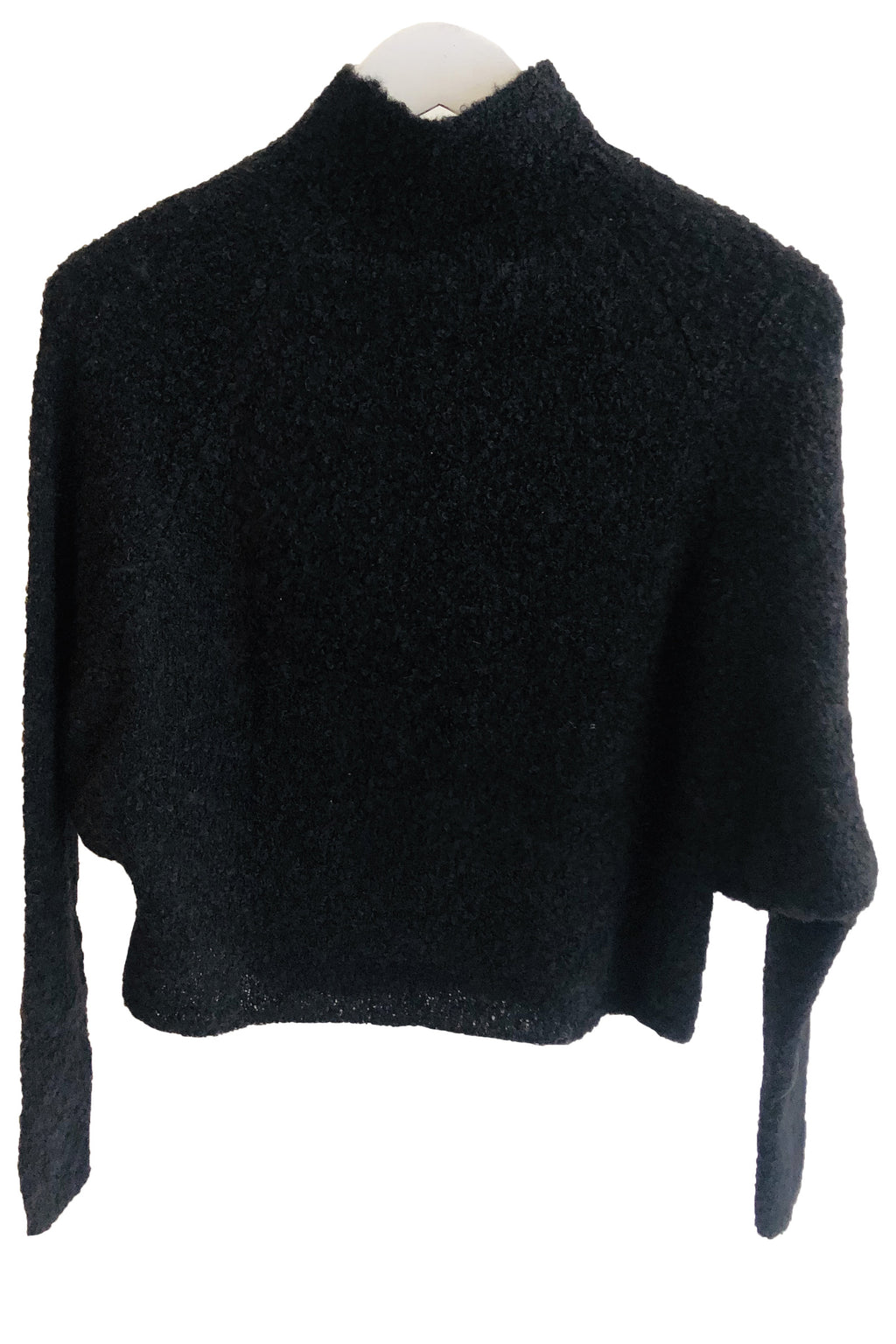 Atelier Delphine Alpaca Savannah Top in Black
