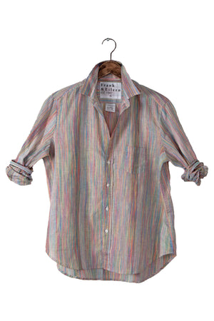 "Frank and Eileen ""Eileen"" Rainbow Stripe Button Down"