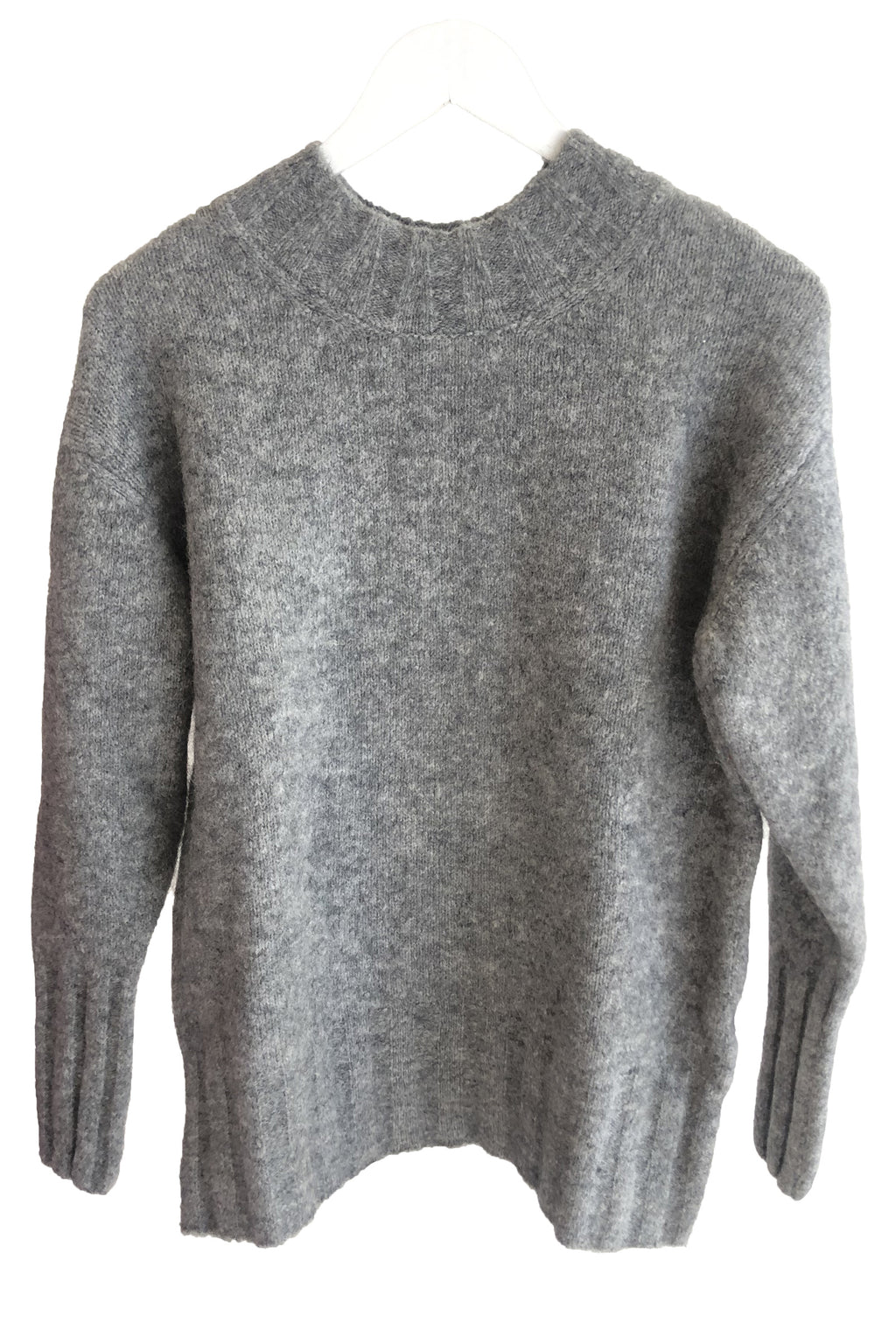 Paloma Wool Rodriguez Warm Oversized Sweater in Mid Grey