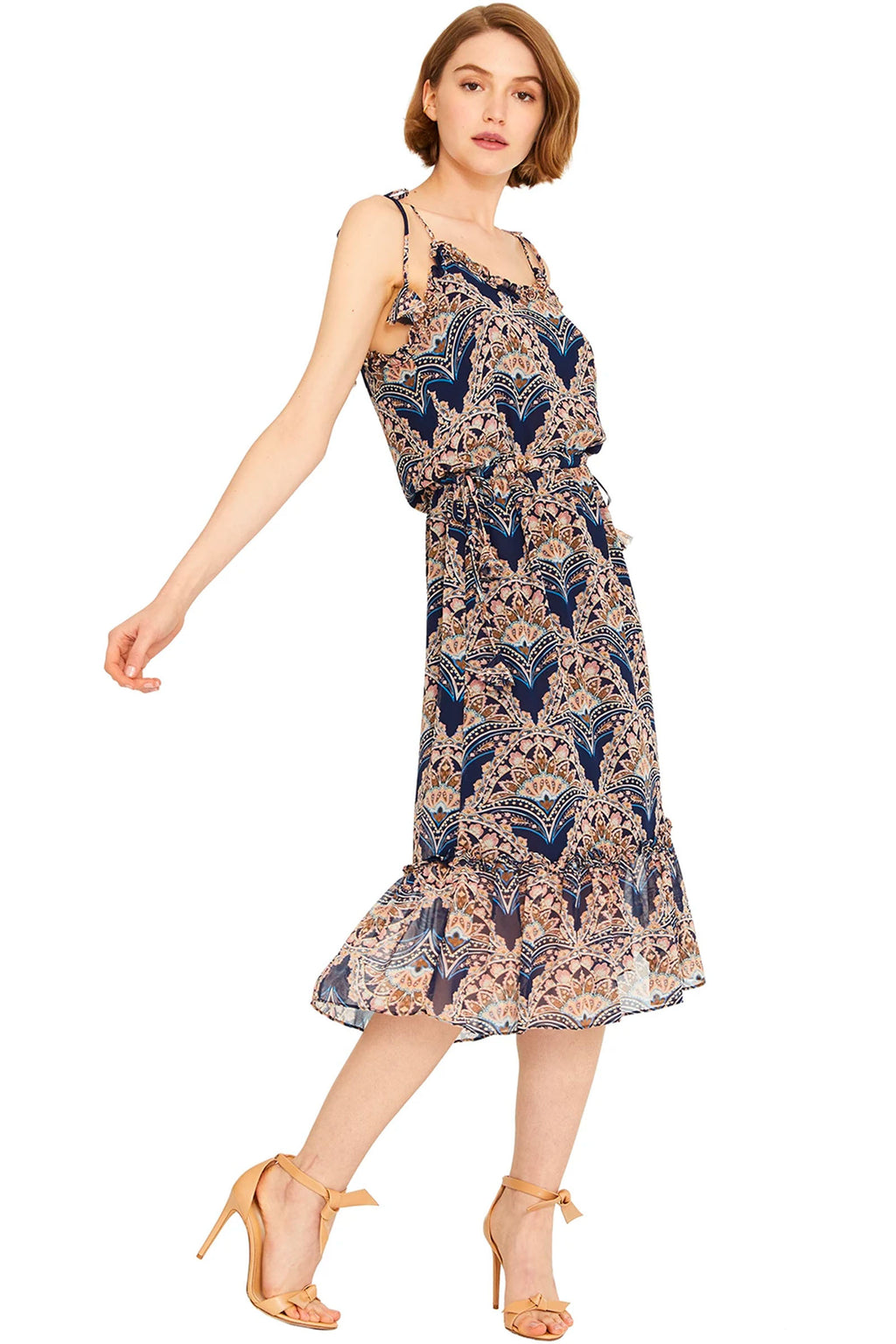 Misa Gianella Dress in Resort Paisley