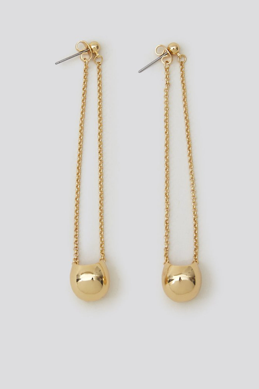 Rachel Comey Mast/ Burgee Earrings in 12k Gold Plated Silver