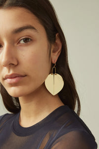 Rachel Comey Heartbreaker Earrings in Gold