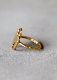 IL Design Gold Double Bali Ring