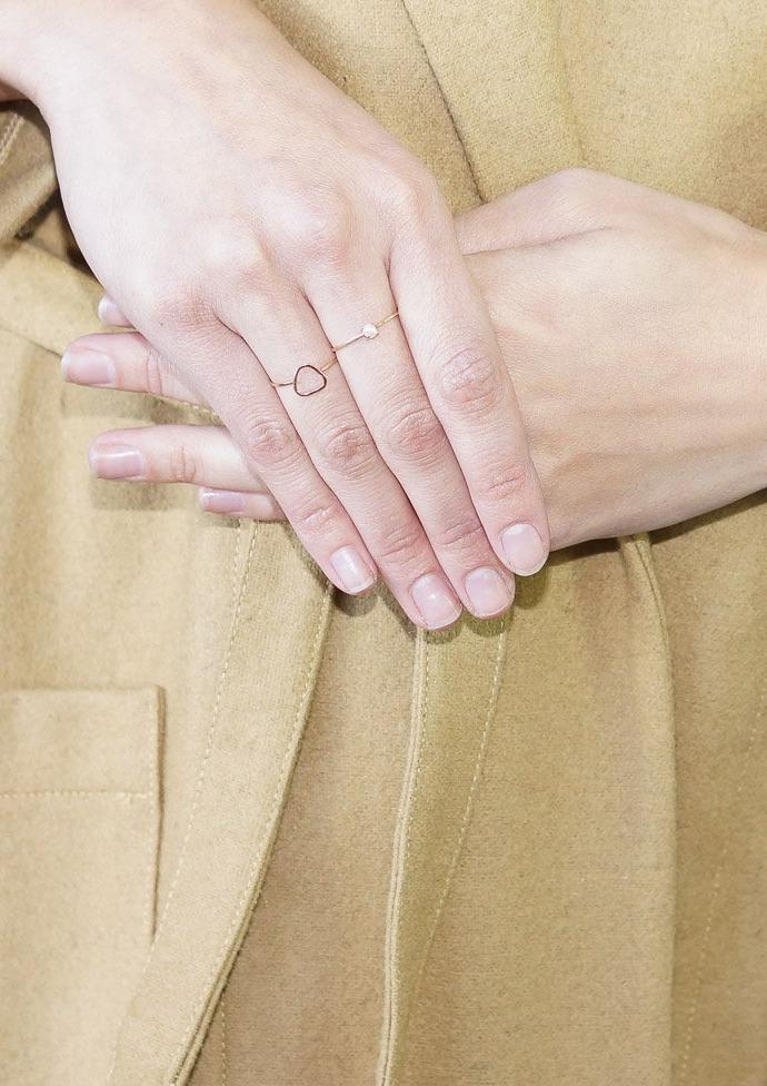 Melissa Joy Manning 14K Y Gold Tiny Fresh Water Pearl Ring