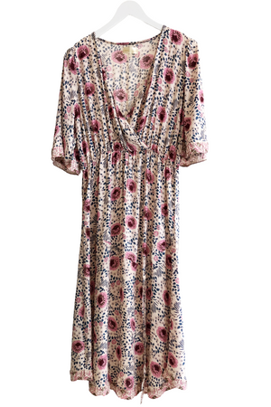 Natalie Martin Vintage Flowers Cream Coco Dress