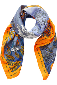 Inouitoosh Silk Adventure Scarf in Mandarin