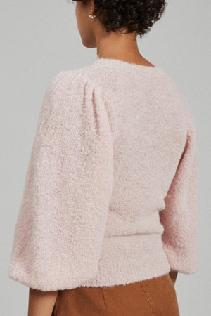 Rachel Comey Forbell Top in Light Pink