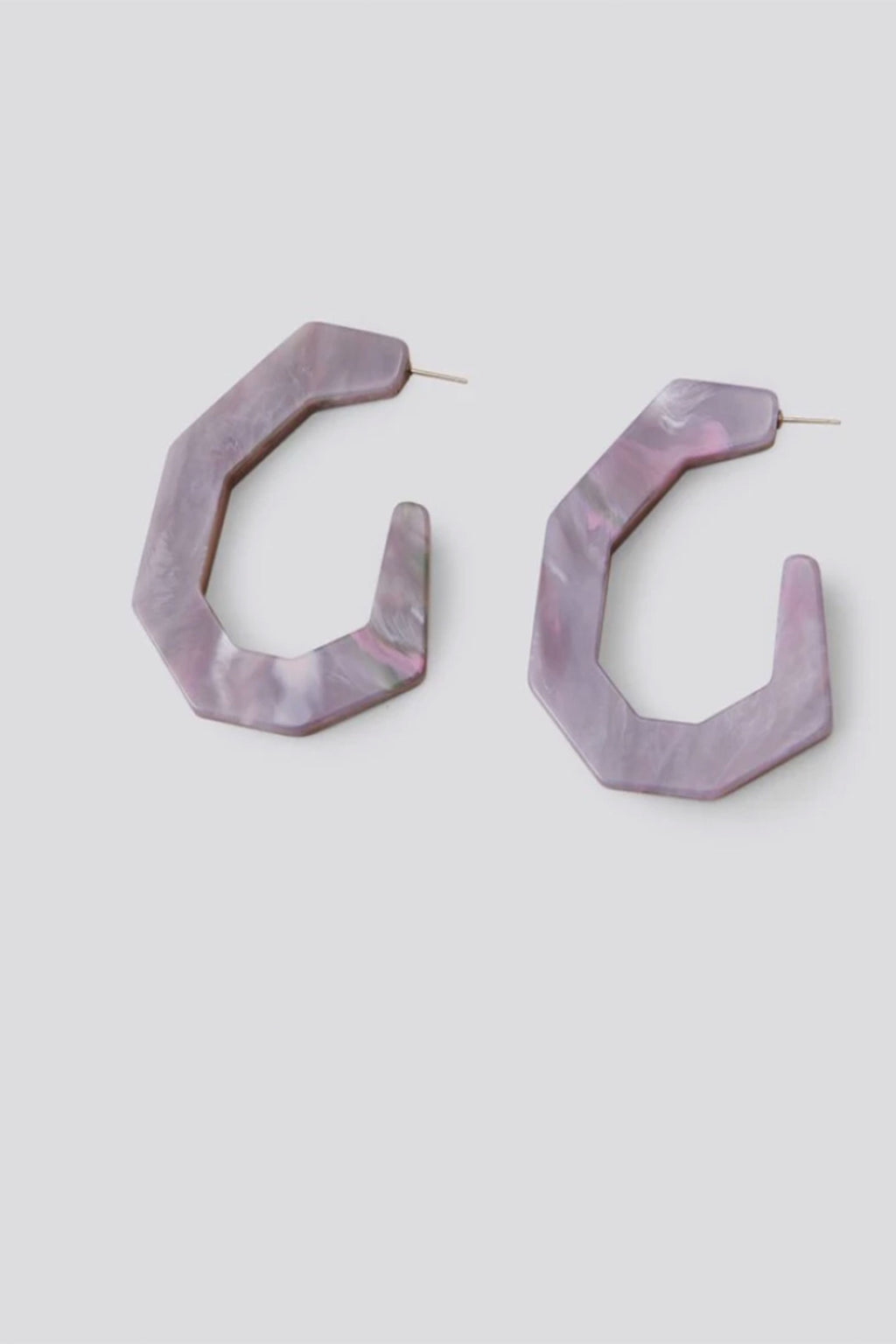 Rachel Comey Factor Earrings in Slate Marble