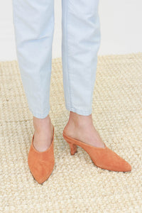 Rachel Comey Alder Mule in Whiskey