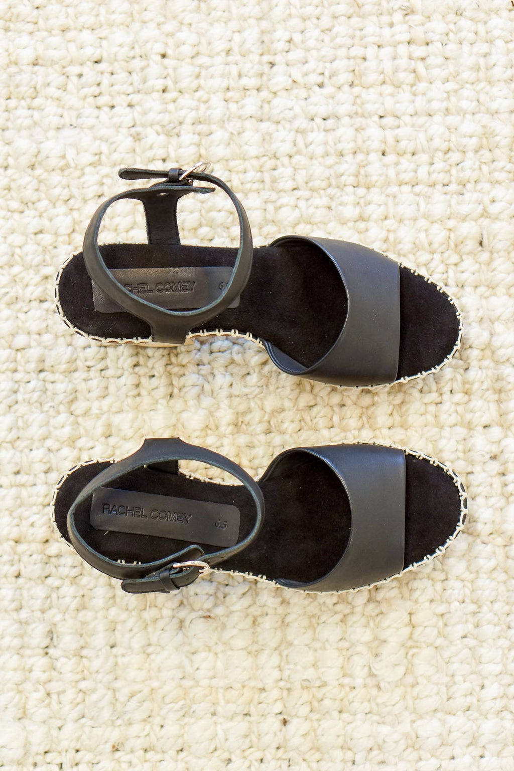 Rachel Comey Avid Open Toe Clog in Black