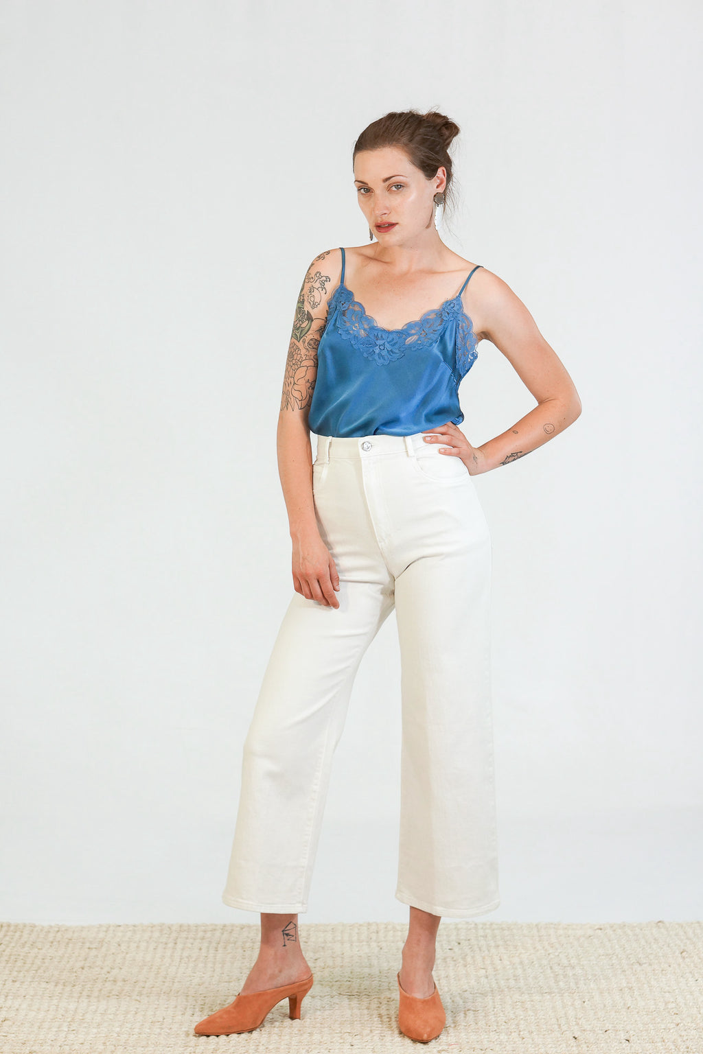 Rachel Comey Clean Legion Pant in Dirty White