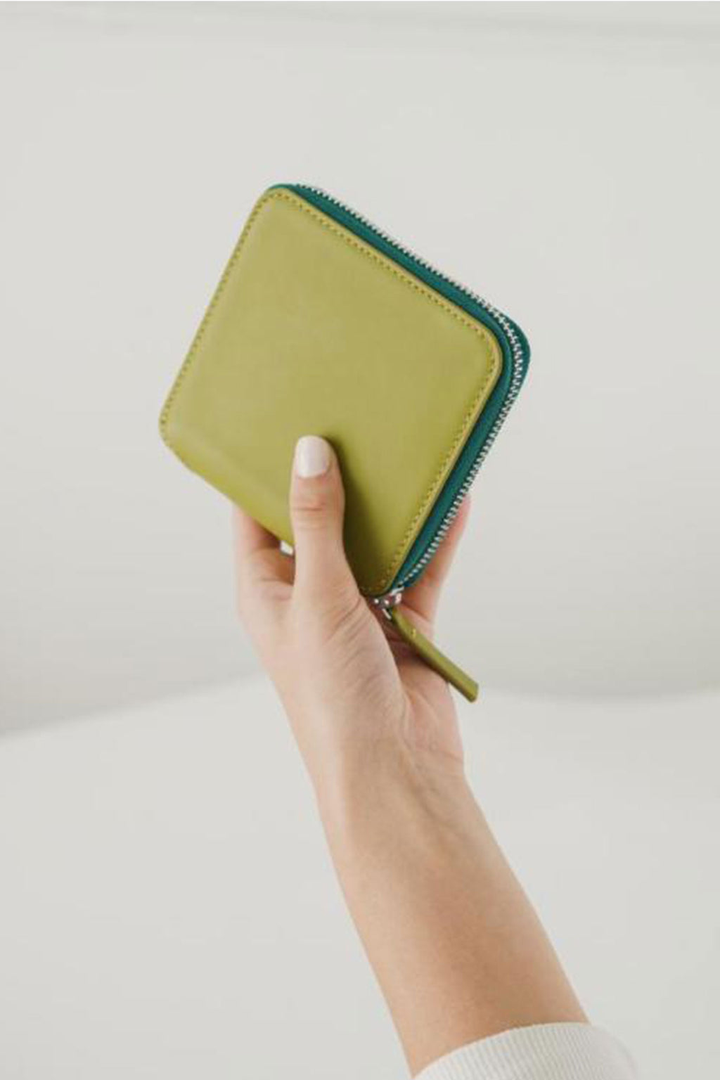 Baggu Square Wallet in Spanish Moss