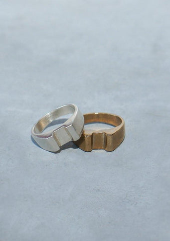 Seaworthy Norde Ring in Brass