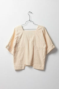Atelier Delphine Block Top in Buff