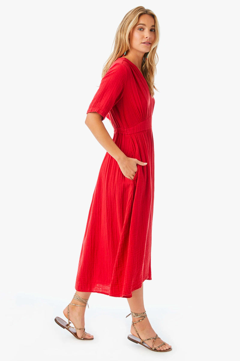 Xirena Mila Dress in Clambake Red