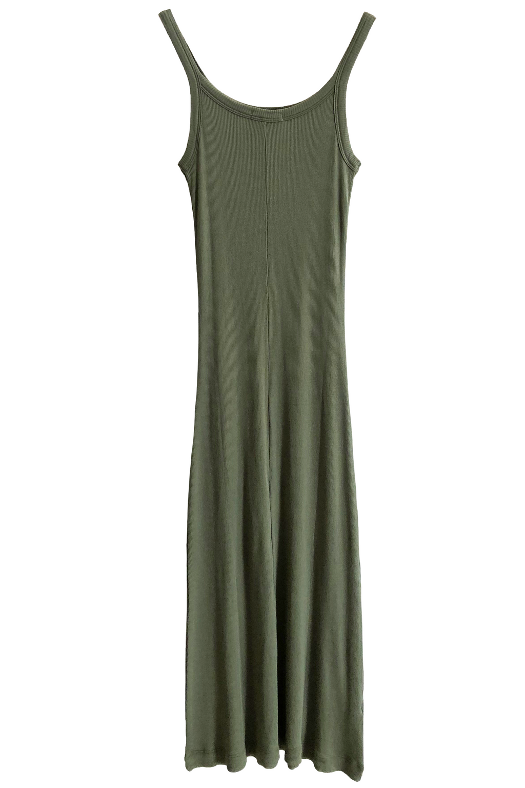 Skin Radika Chemise Dress in Olive Branch