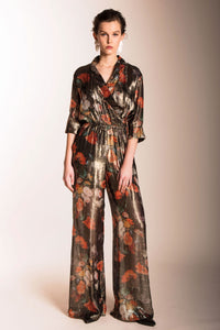 Caballero Kinzy Jumpsuit in Painted Still Life