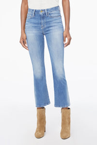 Frame Le Crop Mini Boot Denim in Manzanita