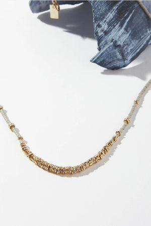 ILD Storm Crystals Short Full Necklace in Storm