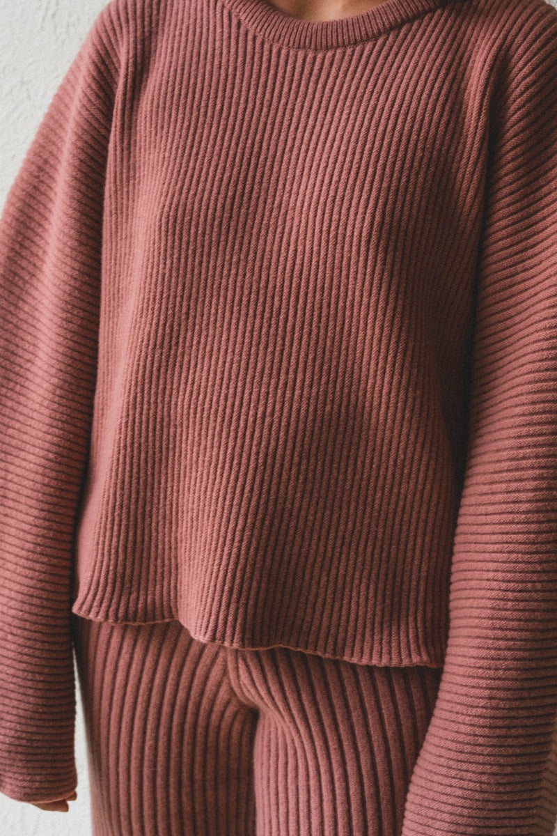Baserange Kai Sweater in Cinnamon
