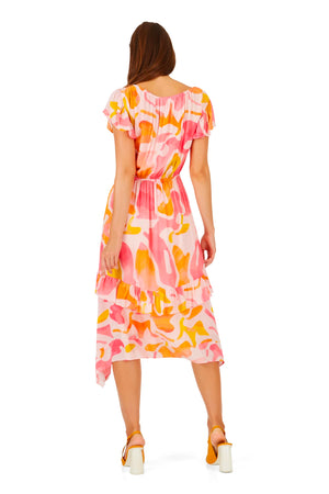 Caballero Kendal Dress in Silky Islands