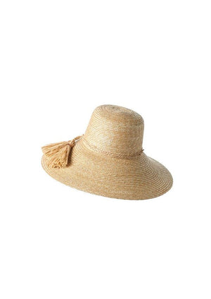 Lola Ehrlich Re-Rope Swing Wheat Straw Hat