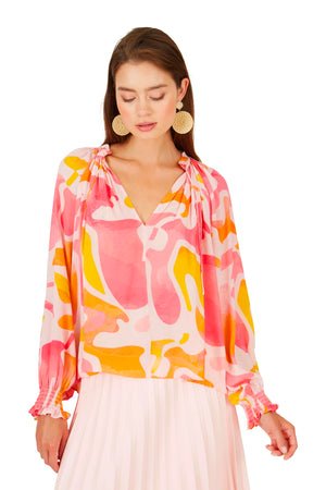 Caballero Miki Top in Silky Islands