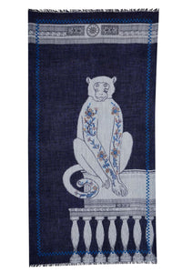 Inouitoosh Akantha Blue Monkey Wrap
