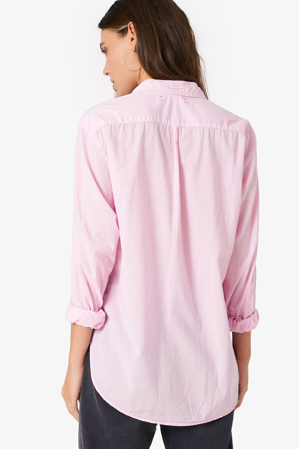 Xirena Beau Shirt in Crystalline Pink