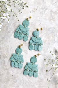 Elizaberry Gypsy Earrings in Robin Egg Green