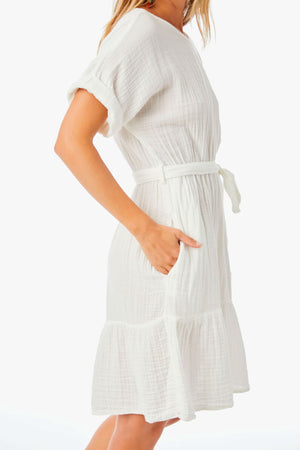 Xirena Cotton Aiden Dress in White