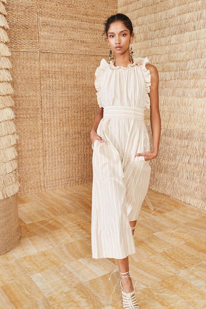 Ulla Johnson Simka Jumpsuit in Natural