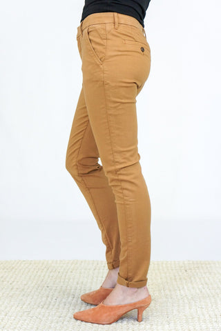 Reiko Chino Trousers in Chamois