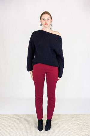 Rachel Comey Further Pant in Bordeaux