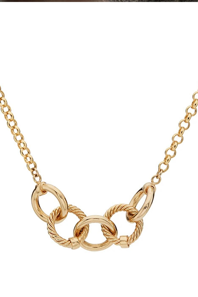 Soko Gold Plated Uzi Delicate Necklace