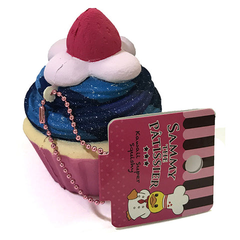 Sammy the Patissier Colorful Cupcake Super Squishy Mascot