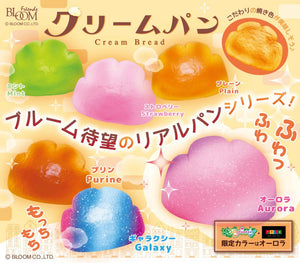 iBloom Cream Bread Squishy company add