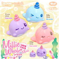iBloom Mini Millie the Whale Wink Eyes Squishy iBloom ad for millie