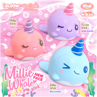 iBloom Millie the Whale Winking Eyes Squishy company add