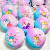 Pre-Order Poli Jumbo Galaxy Fruity Bun Squishy